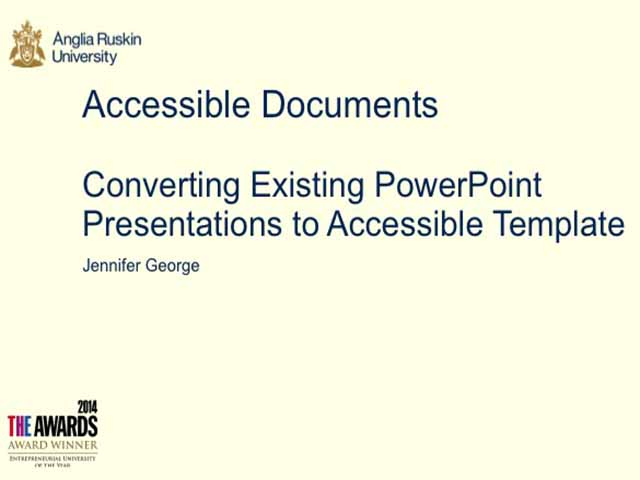 10b converting existing powerpoint presentations to accessible
