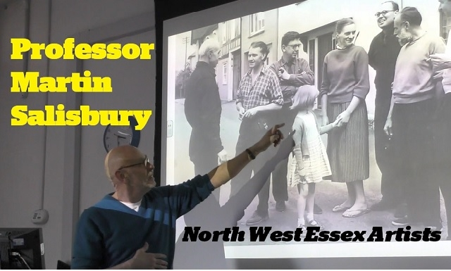 MA Children's Book Illustration Guest Lectures 2019 - Prof. Martin Salisbury