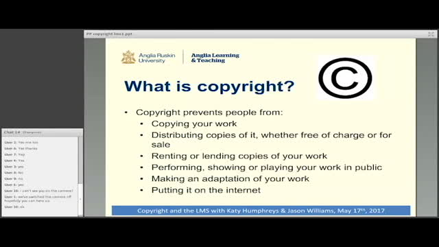 Copyright - Breaching Copyright