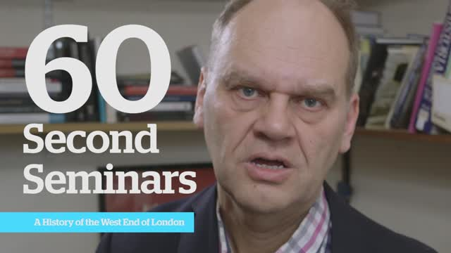 Professor Rohan McWilliams 60s seminar: A History of the West End of London