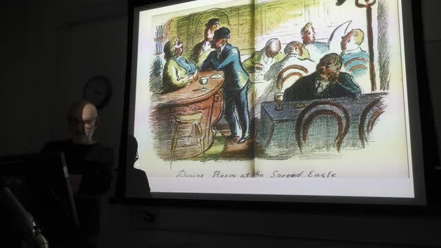 MA Children's Book Illustration Guest Lectures 2018 - Martin Salisbury