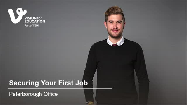 Securing Your First Job