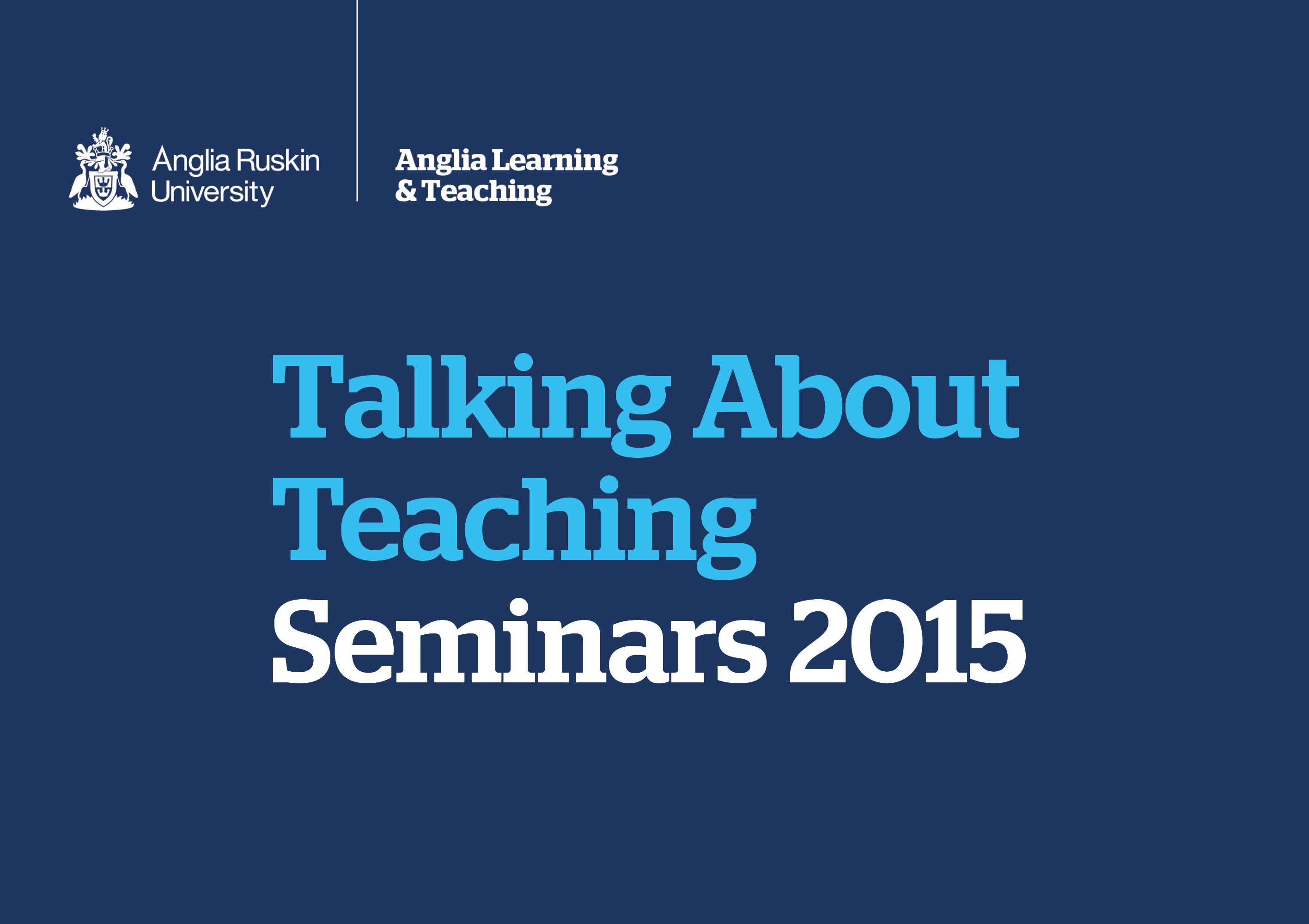 Supporting and Developing Pedagogic Research in HE - Talking About Teaching (2015)