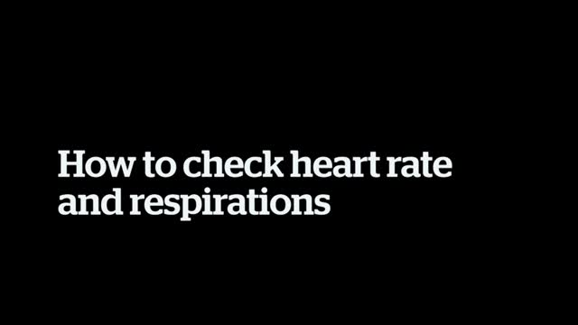 Heart and respirations