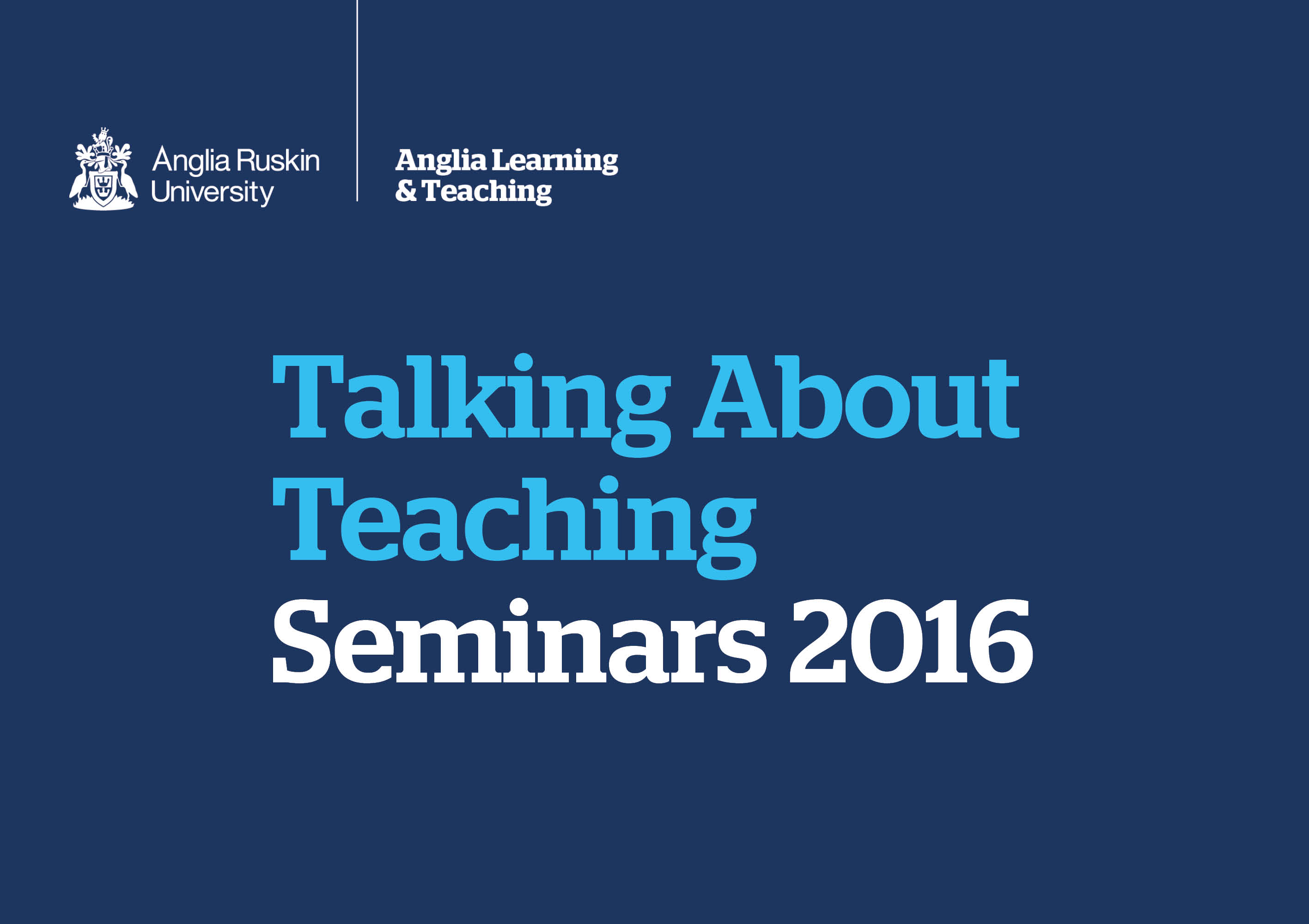 Maximising Student Success - Talking About Teaching (2016)